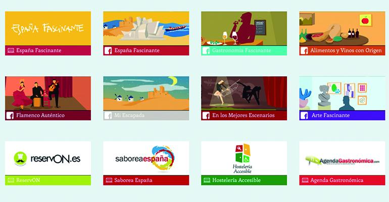 Plataforma online Disfruta España
