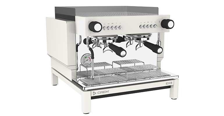 Cafeteras expresso de tamaño compacto y personalizables