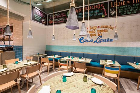 Restaurante Yacumanca interiorismo 2