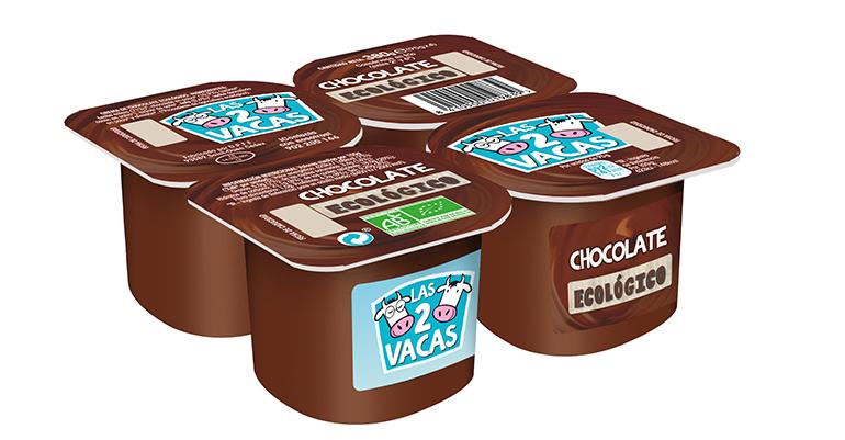 Yogur ecológico danone chocolate